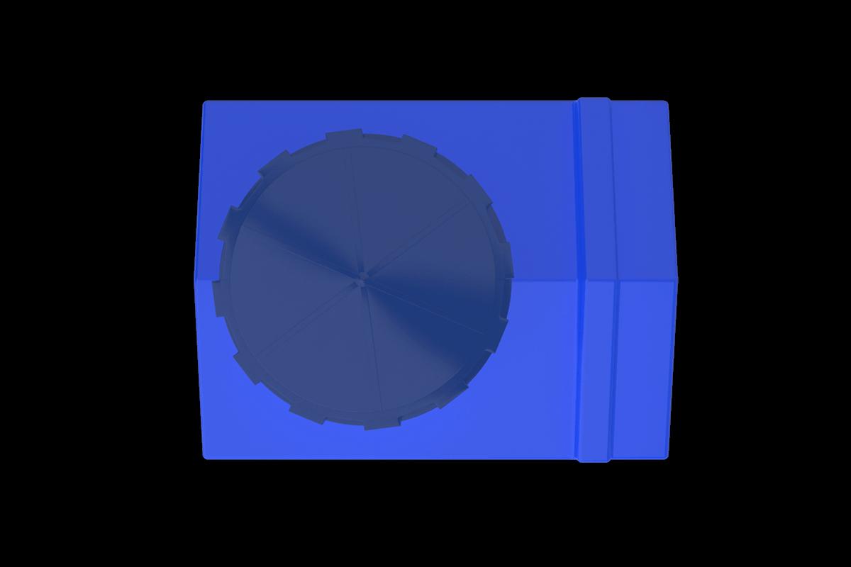 100 Litre Mavi Dikdörtgen Su Deposu Fiyatı