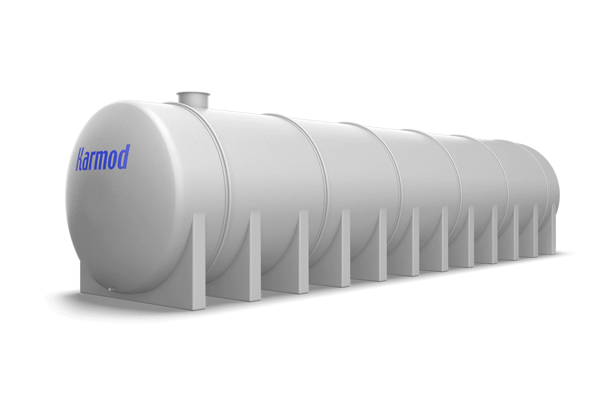 100 Ton Toprak Altı Su Deposu Modeli