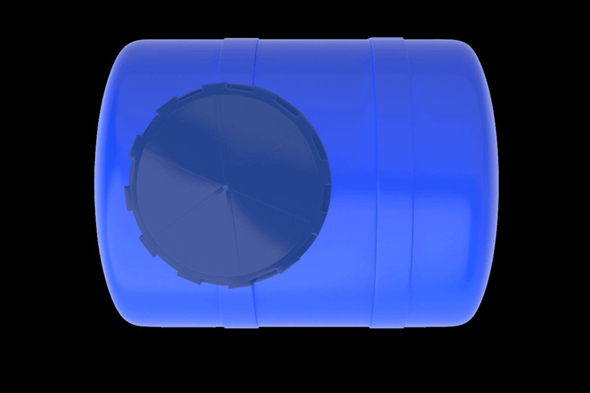 200 Litre Mavi Yatay Su Deposu Fiyatı