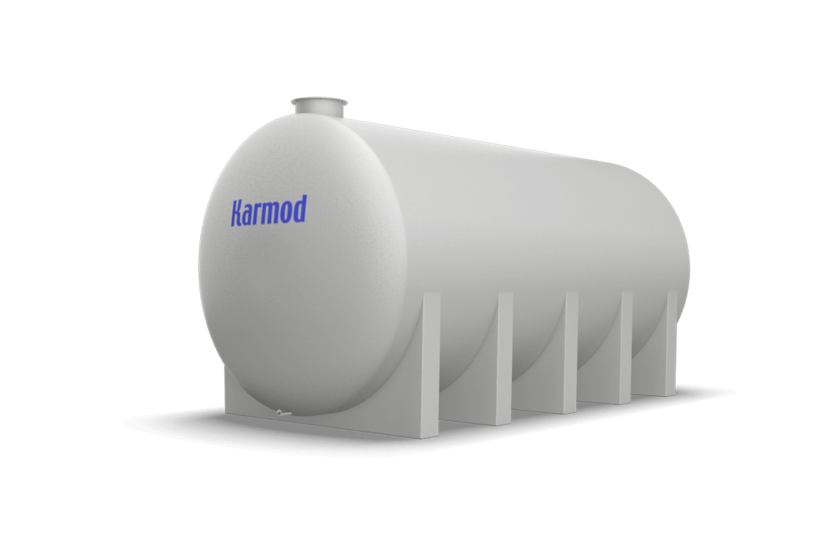 i25 Ton Toprak Altı Su Deposu Modeli