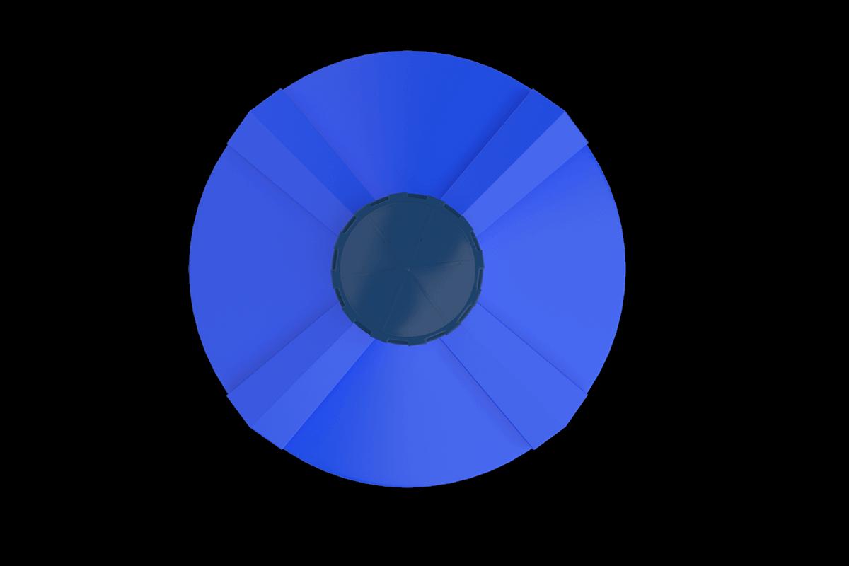 3 Ton Mavi Dikey Su Deposu Fiyatı