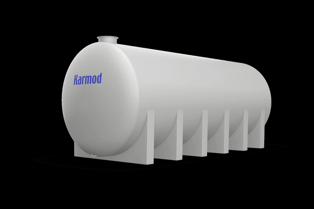 30 Ton Toprak Altı Su Deposu Modeli