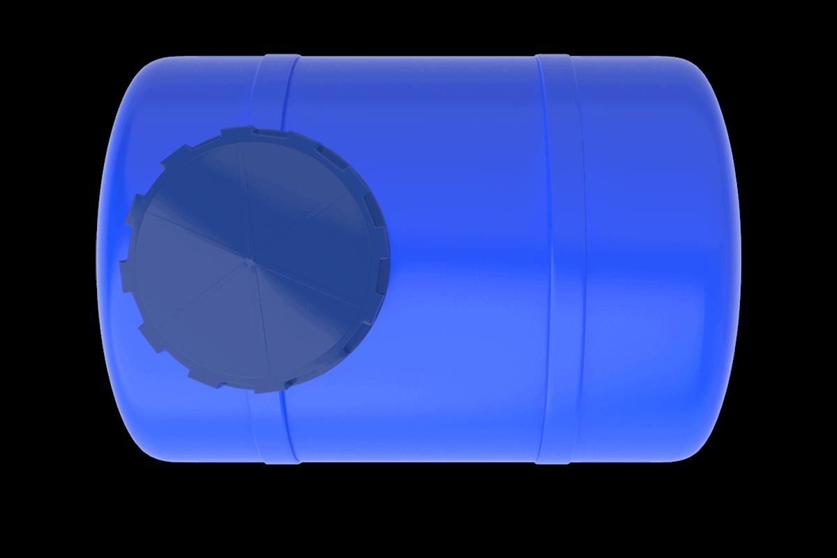300 Litre Mavi Yatay Su Deposu Fiyatı