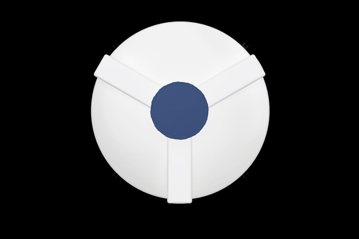 3000 Litre Kapalı Ağız Silo Deposu Model
