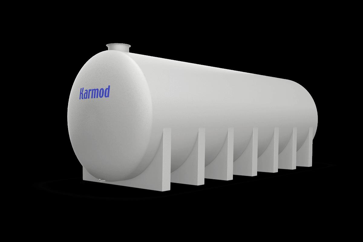 35 Ton Toprak Altı Su Deposu Modeli