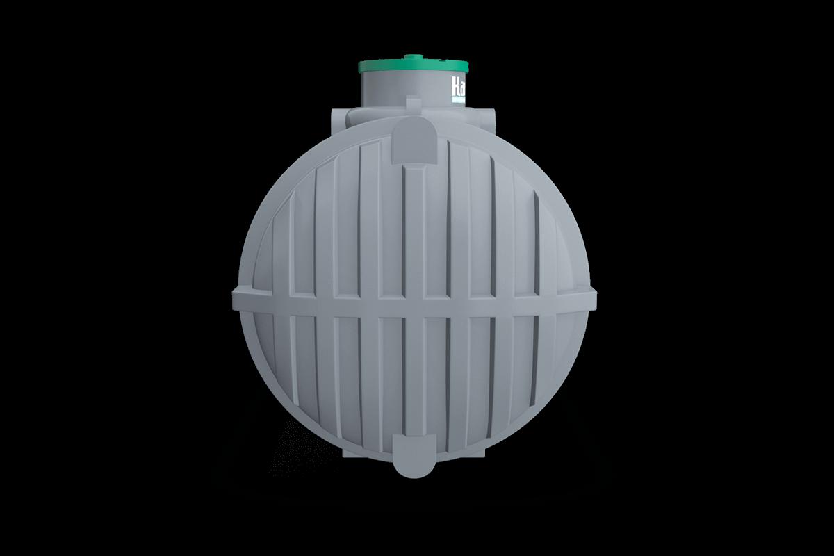 5 Ton Toprak Altı  Beyaz Polietilen Foseptik Tankı Modeli