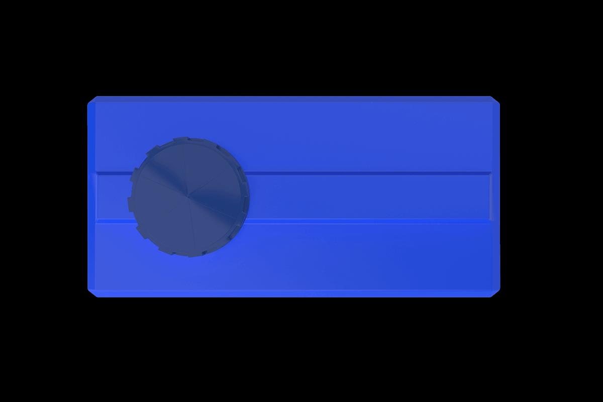 500 Litre Mavi Dikdörtgen Su Deposu Fiyatı