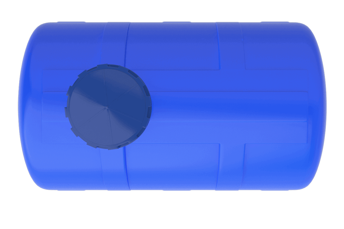 500 Litre Mavi Yatay Su Deposu Fiyatı