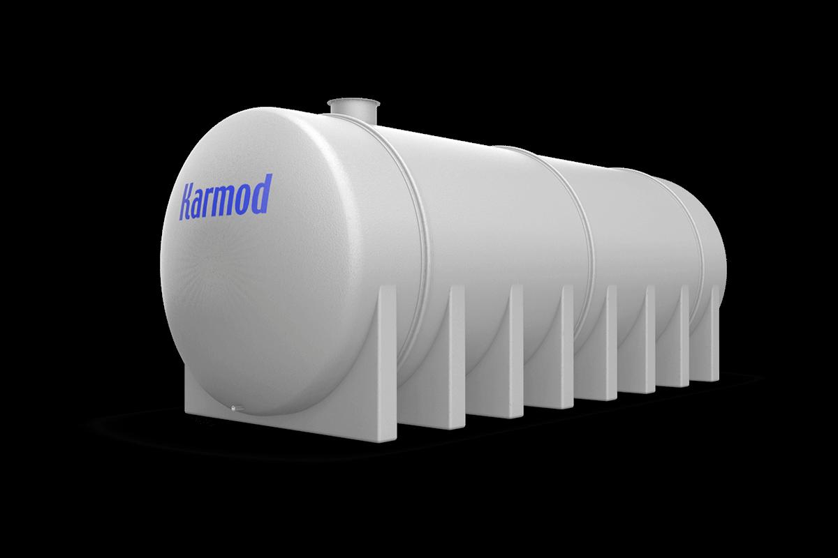 60 Ton Toprak Altı Su Deposu Modeli