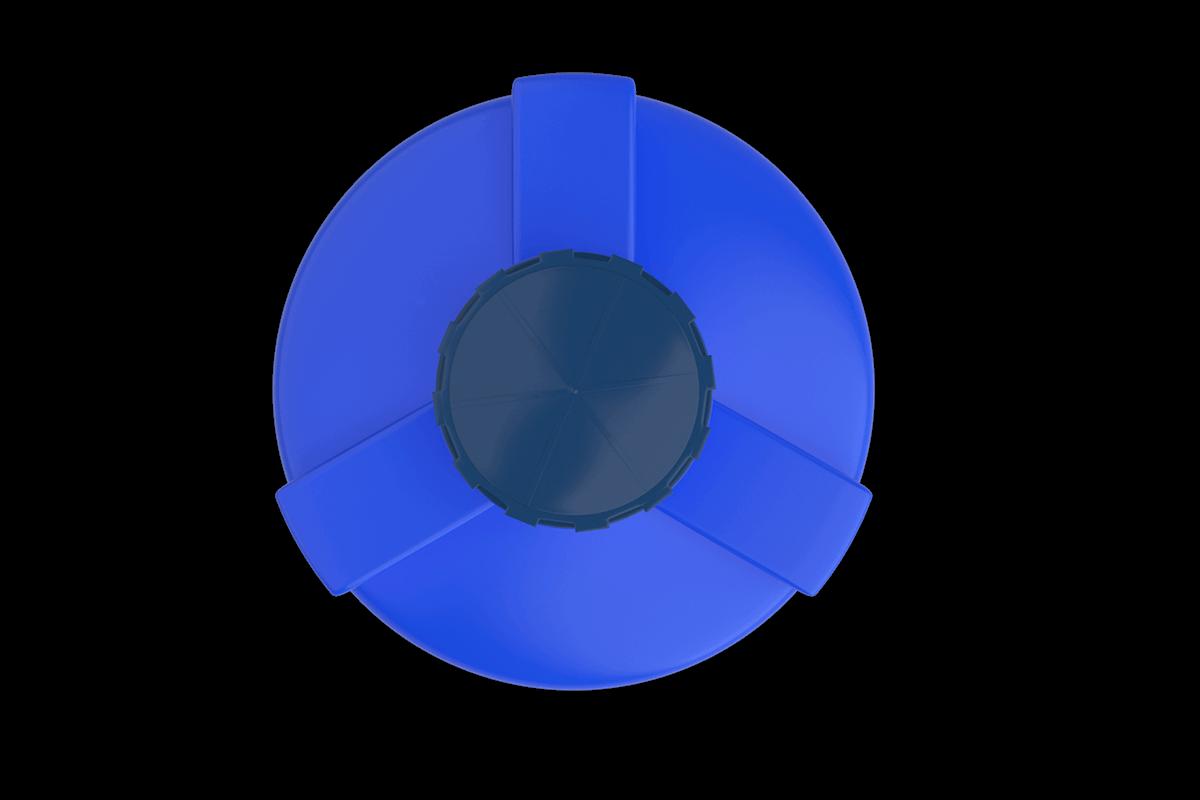 750 Litre Mavi Dikey Su Deposu Fiyatı