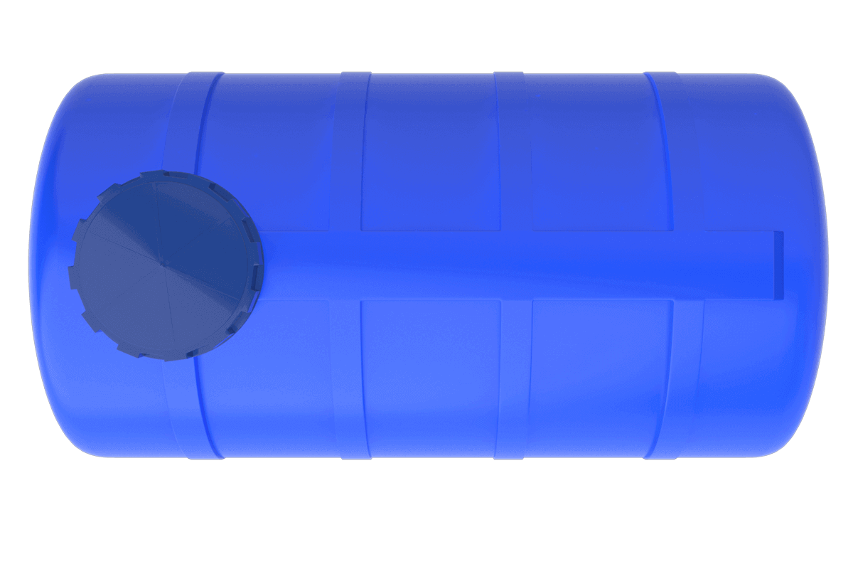 750 Litre Mavi Yatay Su Deposu Fiyatı