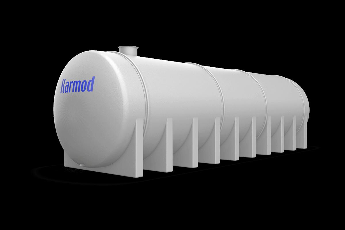 80 Ton Toprak Altı Su Deposu Modeli