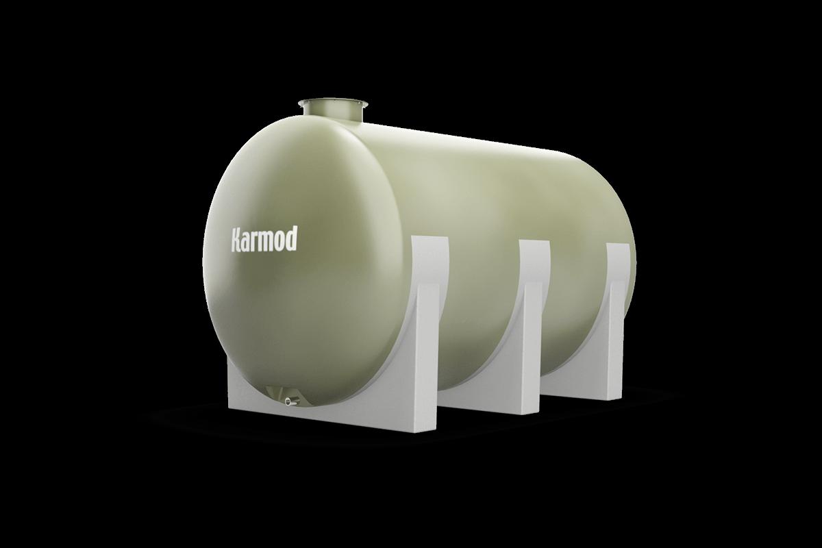 9 Ton Toprak Altı Su Deposu Modeli