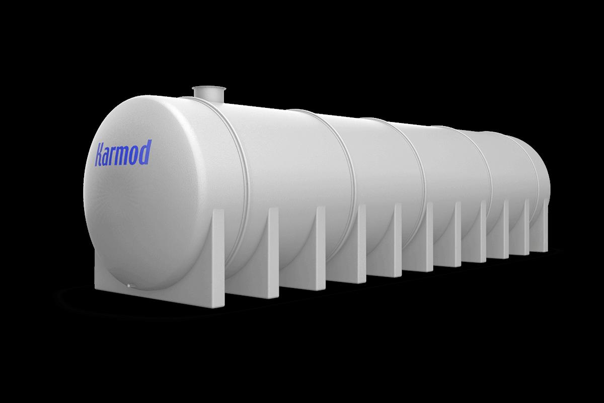 90 Ton Toprak Altı Su Deposu Modeli