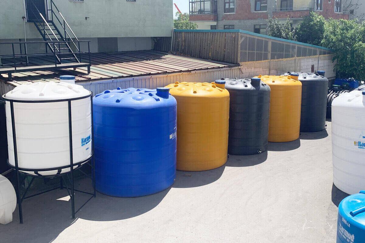 Plastik su deposu kullanım alanları